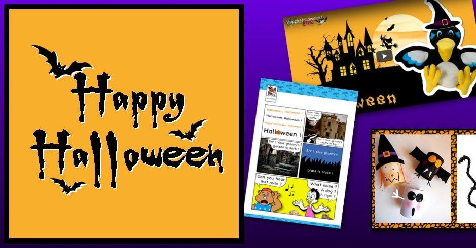 Traduction Du Mot Coloriage En Anglais.Chanson Halloween En Anglais Melopie Apprendre En S Amusant