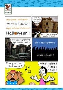 chanson halloween anglais