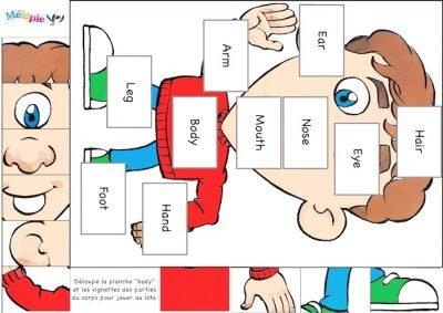 jeux anglais enfant