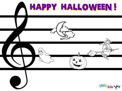 jeux musique halloween