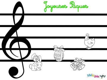 jeux musique paques