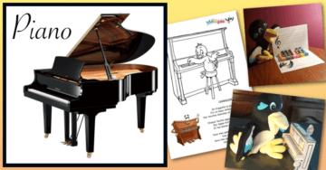 dessin piano