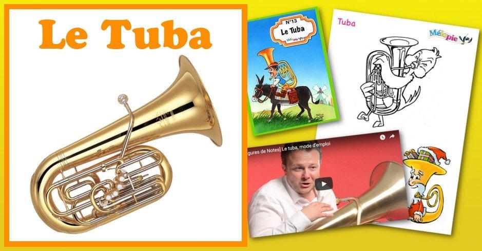 dessin tuba