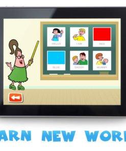 application anglais enfant