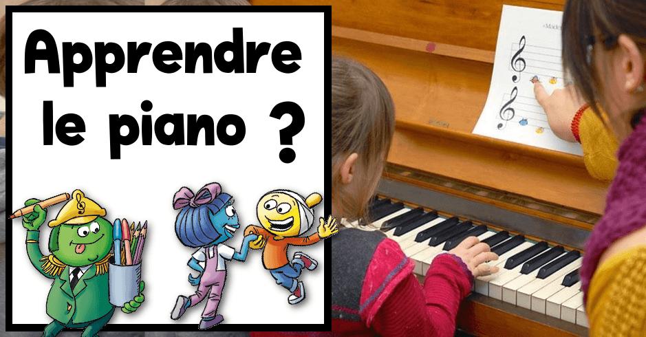 apprendre piano enfant