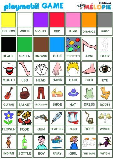jeu pour apprendre l'anglais