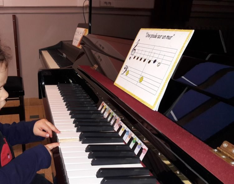 piano enfant melopie