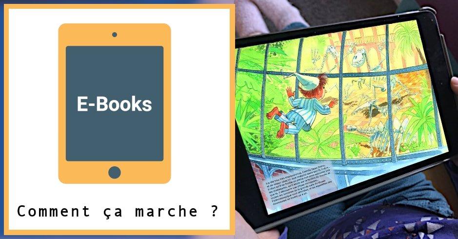 livre numérique comment ça marche ?