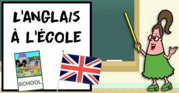 anglais école