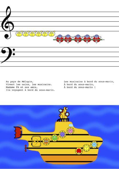 chanson du sous marin portee