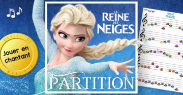 la reine des neige partition