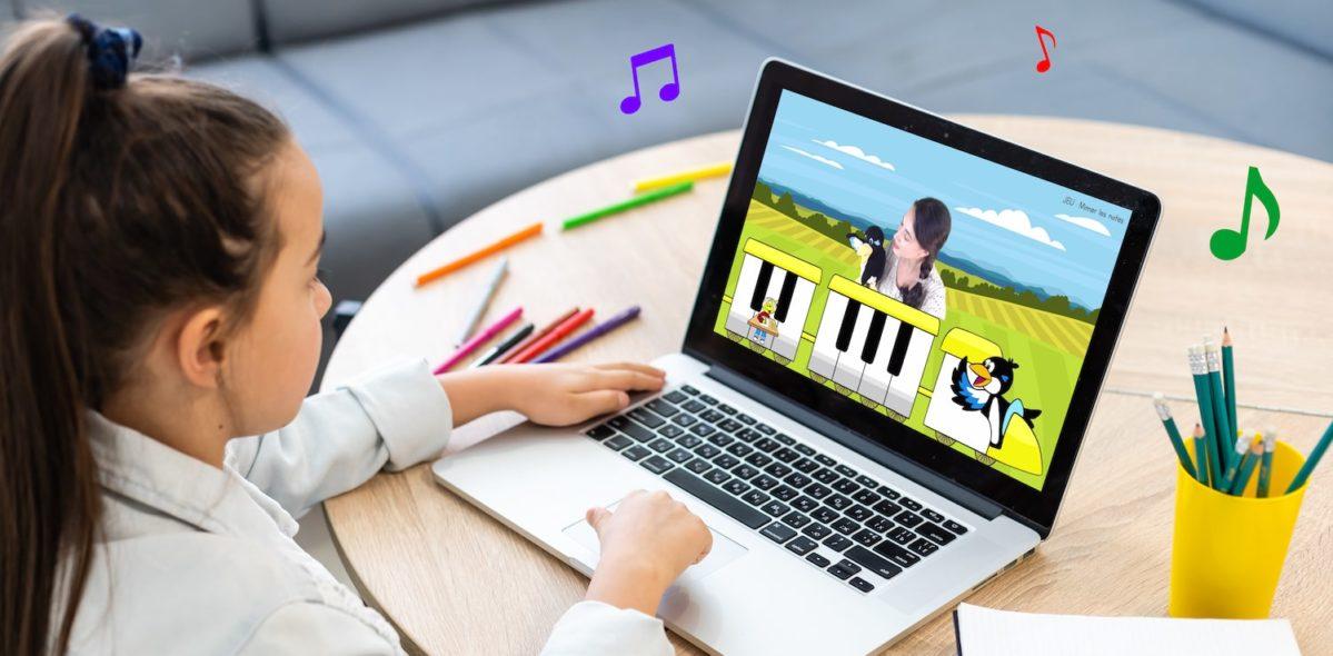 cours piano enfant en ligne