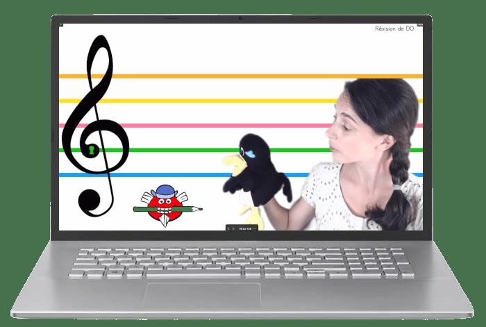 cours de piano en ligne pour enfant