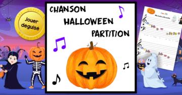 chanson halloween partition